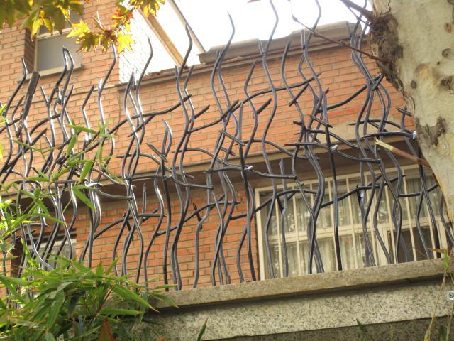 نرده شاخ گوزنی برای کاربری مسکونی