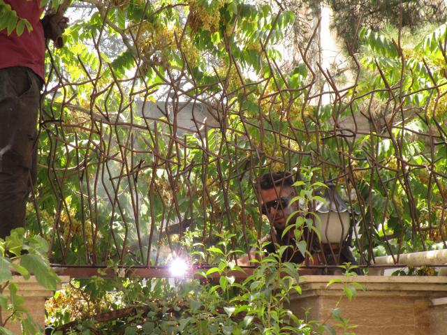 جوشکاری حفاظ شاخ گوزنی