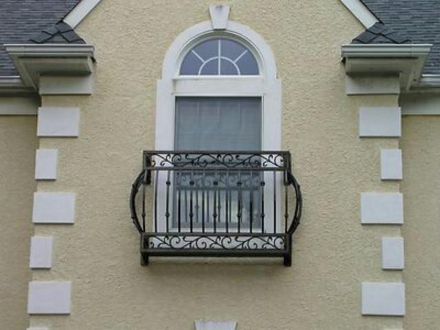 نرده پنجره کوتاه