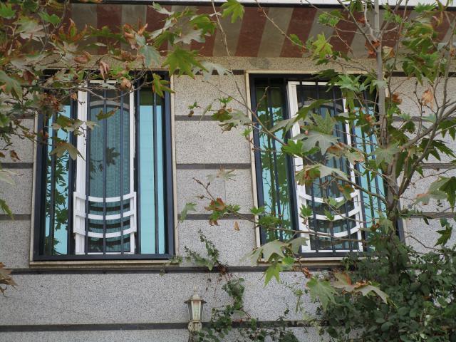 حفاظ پنجره دو رنگ